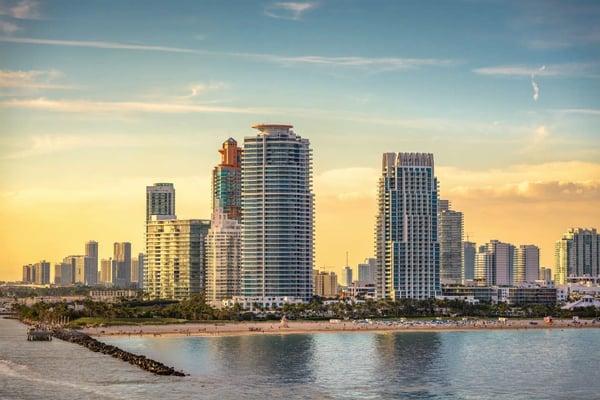 마이애미 비치 또는 Downtown Miami 부동산
